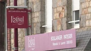 Boulangerie de village, Manche. (FRANCE 2)