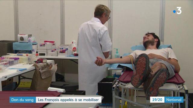 Don du sang : les Français appelés à se mobiliser