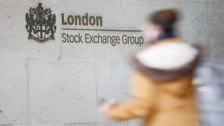 La façade du Stock Exchange Group à Londres. Photo d'illustration. (AFP)