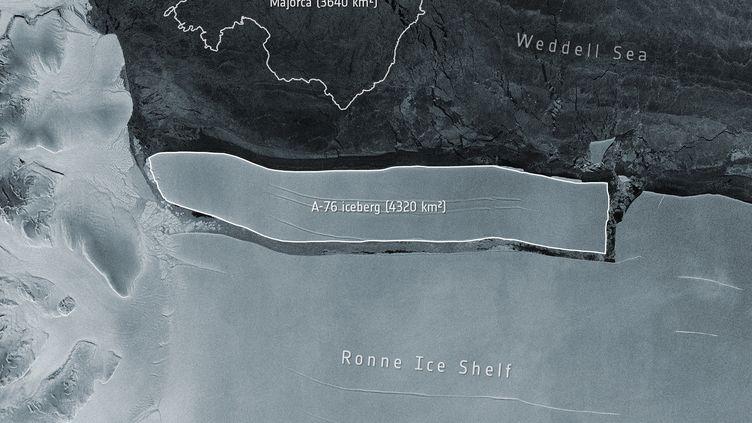 L'Avenir Le plus gros iceberg existant se détache de l'Antarctique