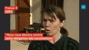 En 1993, les trois enfants de madame Huret se voient interdire l'accès à l'école, car ils ne sont pas vaccinés. Une vaccination obligatoire à laquelle cette mère de famille refuse de céder pour le bien-être de ses enfants. (FRANCEINFO)