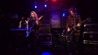 Le groupe CampClaude au 1988 Live Club, lors de l'édition 2018 du festival Bars en Trans, à Rennes. (THOMAS BREGARDIS / MAXPPP)