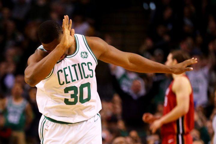 Guerschon Yabusele, rookie robuste des Boston Celtics (MADDIE MEYER / GETTY IMAGES NORTH AMERICA)