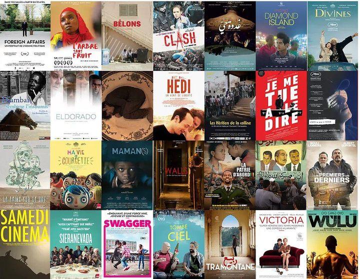 Les films finalistes de l'édition 2017 des Trophées francophones du cinéma (TFC) (DR)