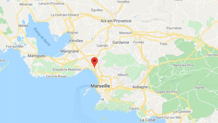 Le 16e arrondissement de Marseille. (CAPTURE ECRAN GOOGLE MAPS)