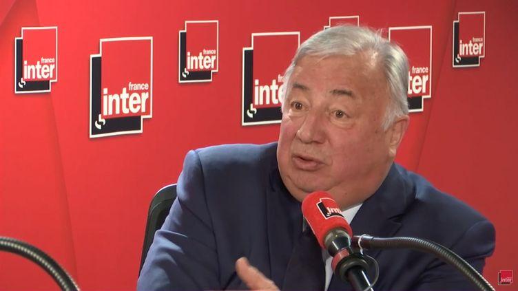 Gérard Larcher, le 10 mai 2019 sur France Inter. (France Inter)