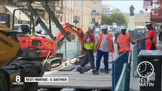 Des ouvriers du BTP. (France 2)