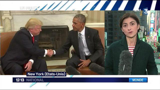 États-Unis : Donald Trump endosse son rôle de président