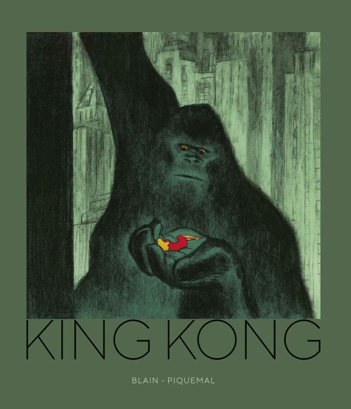 "Couverture de ""King Kong"", Michel Piquemal, Christophe Blain (Christophe Blain, Robinson / Hachette)"