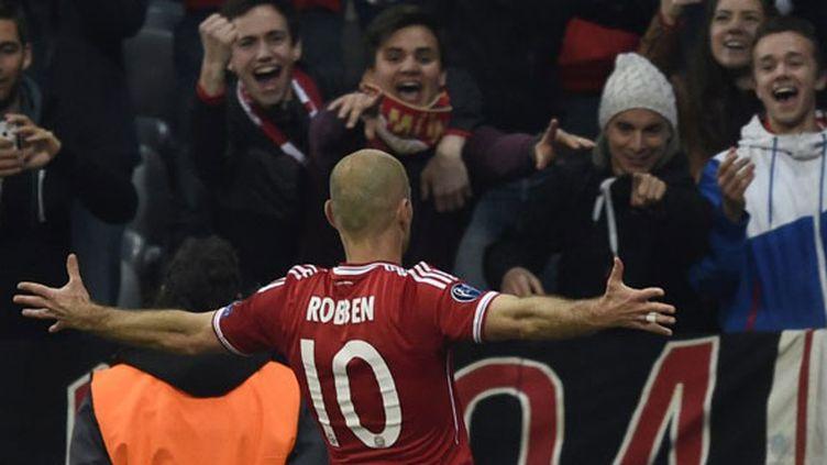 Le bonheur du Néerlandais Arjen Robben