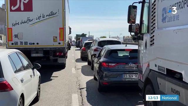 Marseille : le retour des bouchons sur les routes