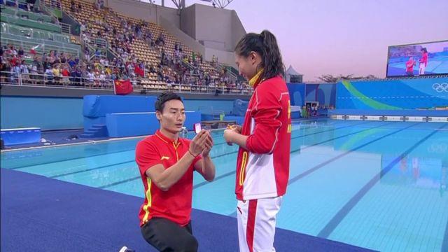 JO 2016 : la plongeuse He Zi repart de Rio avec une demande en mariage