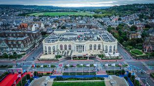 Le casino Barrière de Deauville, le 12 septembre 2020. (LOU BENOIST / AFP)