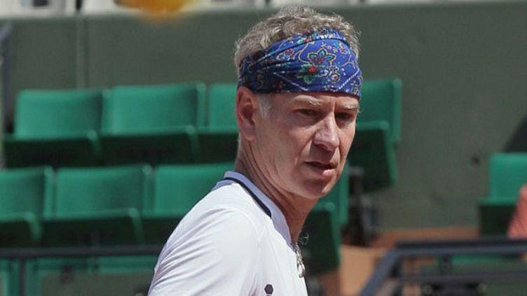 L'Américaine John McEnroe, au tournoi des Légendes