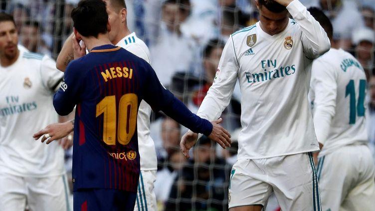 Lionel Messi et Cristiano Ronaldo  (BURAK AKBULUT / ANADOLU AGENCY)