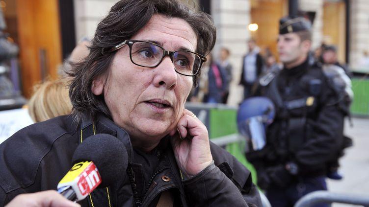 Marie Cervetti, directrice du FIT (centre d'accueil de jeunes femmes victimes), est signataire de la tribune sur franceinfo.fr. (MEHDI FEDOUACH / AFP)