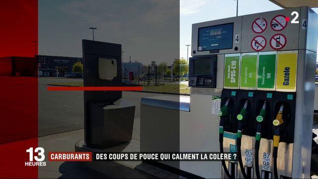 Carburants : le gouvernement annonce trois coups de pouce aux automobilistes