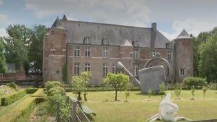 Le château d'Esquelbecq (Nord) vient de rouvrir. C'est un bijou de la Renaissance flamande. Il était fermé depuis le mois d'octobre 2019. (France 3)