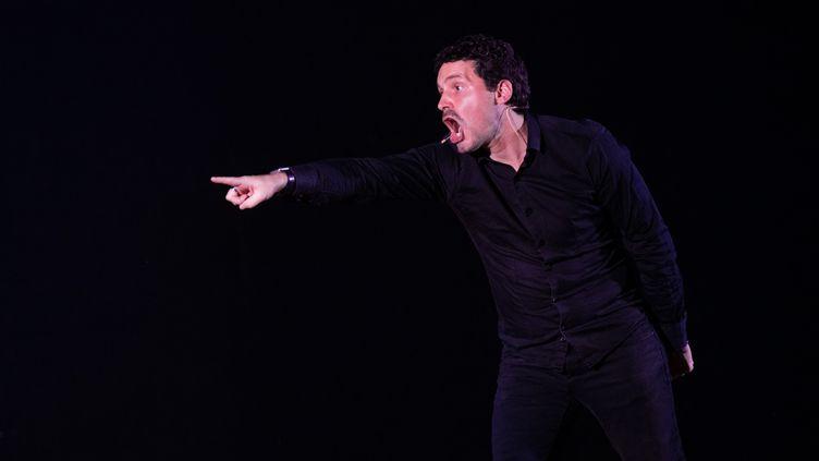 Simon Cojean au Festival de Cornouailles, le 23 juillet 2020 (Festival de Cornouailles)