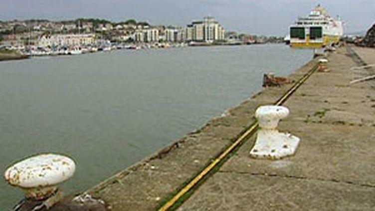 Port de commerce (France 3 Normandie)