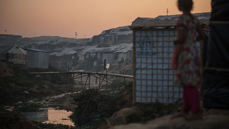 Le camp de réfugiés Kutupalong à Cox's Bazar (Bangladesh), le 27 novembre 2017. (ED JONES / AFP)