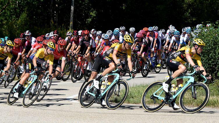 """Le peloton du 107e Tour de France sera plongé dans une """"bulle sanitaire"""" (LAURENT THEVENOT / MAXPPP)"""