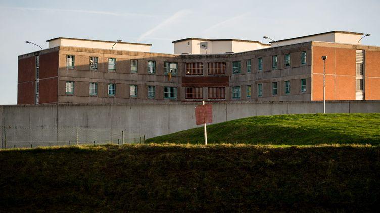 Le centre de détention de Bapaume, dans le département du Pas-de-Calais, le 11 novembre 2015. (BONNIERE PASCAL / MAXPPP)