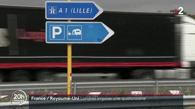 France et Royaume-Uni : Londres impose une quatorzaine