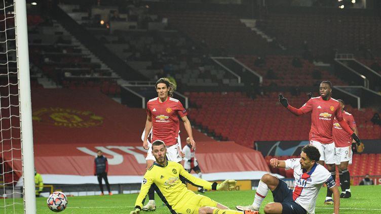 Marquinhos s'est arraché pour offrir au PSG une victoire inespérée. (OLI SCARFF / AFP)