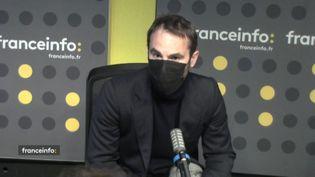 """Antoine Vitkine réalisateur de """"Salvator Mundi, la stupéfiante affaire du dernier Vinci"""". (CAPTURE D'ECRAN DAILYMOTION)"""