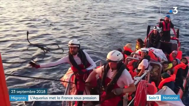 Migrants : l'Aquarius met la France sous pression