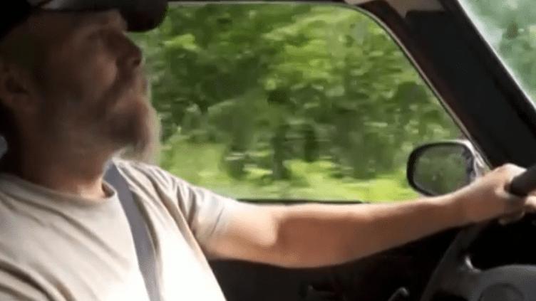L'activiste néo-nazi Kristian Vikernes et sa compagne ont été interpellés, mardi 16 juillet, à Salon-la-Tour (Corrèze). (FRANCE2 / FRANCETV INFO)