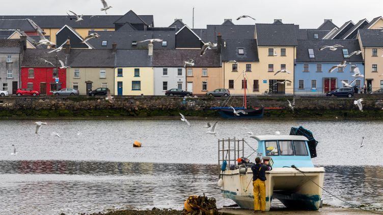 Le port de Claddagh à Galway en Irlande (photo d'illustration). (MAUD DUPUY / HANS LUCAS)