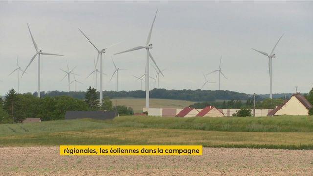 Régionales : la question des éoliennes s'invite dans la campagne en Centre-Val-de-Loire