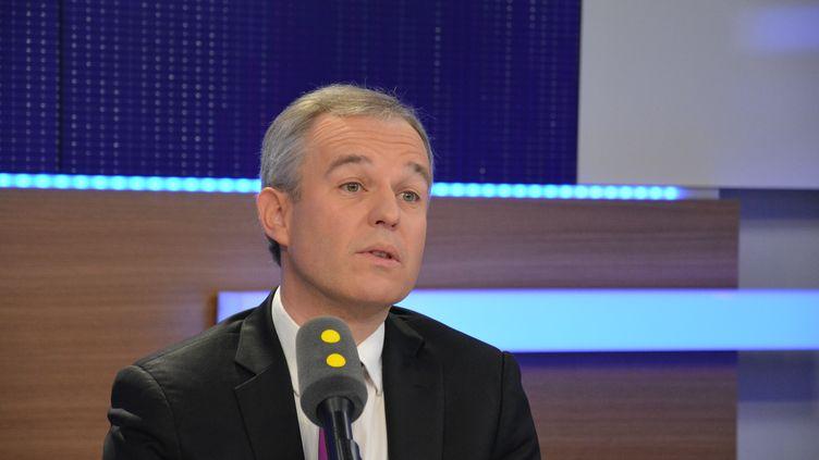 François De Rugy,président du Parti écologiste (Jean-Christophe Bourdillat / Radio France)