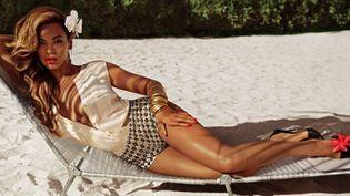 La chanteuse Beyoncé dans la campagne été 2013 de H&M.  (H & M)