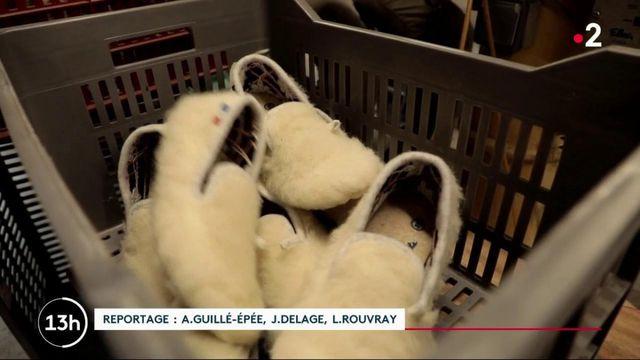 Industrie : la production de charentaises reprend en France