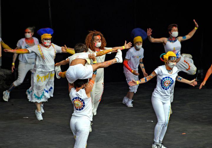 Défilé de la Biennale de la danse de Lyon, le 6/06/21 (RICHARD MOUILLAUD / MAXPPP)