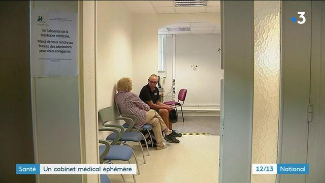 Cabinet éphémère : une solution face aux déserts médicaux ?