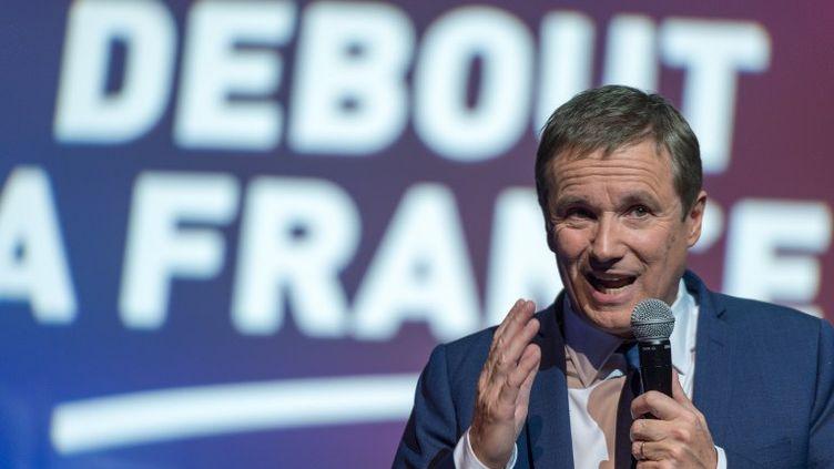 Certains membres de Debout La France verraient d'un bon œil un accord avec le Front national afin de remporter des circonscriptions gagnables. (SERGE TENANI / CITIZENSIDE)