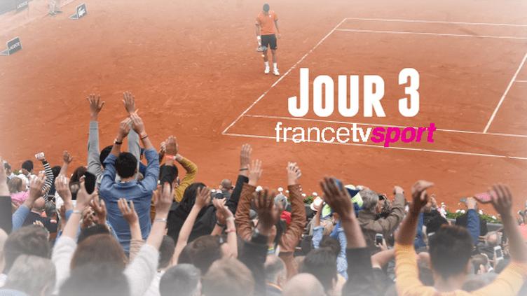 Les 10 meilleurs moments de la 3ème journée des Internationaux de France.