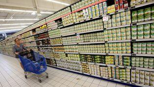 Selon le spécialistede la grande distribution, les prix de certains produits pourraient augmenter. (Photo d'illustration). (LIONEL VADAM  / MAXPPP)