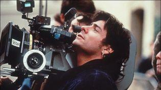 Cyril Collard en tournage à Paris en 1993  (AFP)