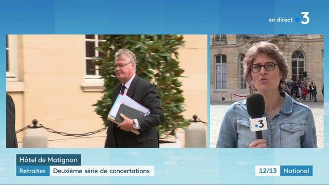 Retraites : deuxième série de concertations entre le gouvernement et les partenaires sociaux