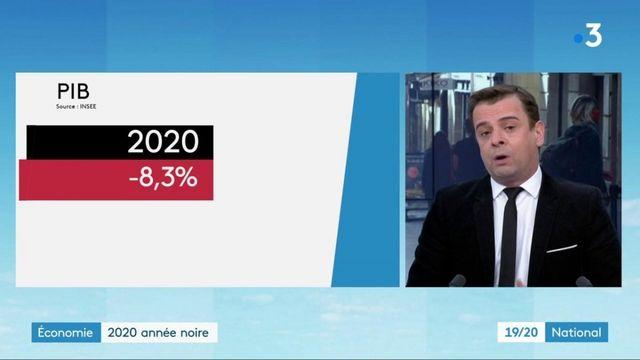 Crise sanitaire : le PIB de la France fait une chute historique