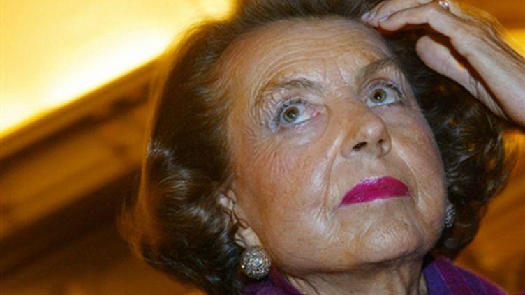 Liliane Bettencourt (archives) (AFP - Joël Saget)