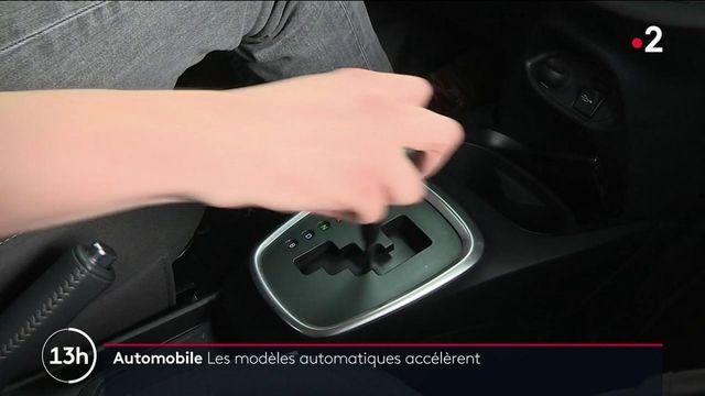 Automobile : les ventes des modèles automatiques dépassent celles des véhicules classiques