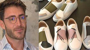Le jeune créateur syrien Daniel Essa séduit le monde avec ses baskets haut-de-gamme  (France 3 / Culturebox )