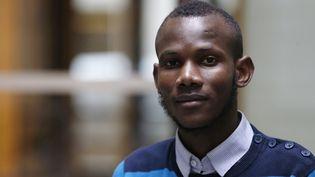 Lassana Bathily, le 15 janvier 2015, à Paris. (FRANCOIS GUILLOT / AFP)