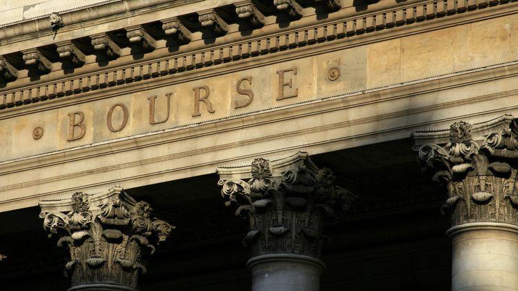 La Bourse de Paris. Photo d'illustration. (CATHERINE GRAIN / RADIO FRANCE)